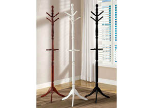 Putnam White Coat Rack