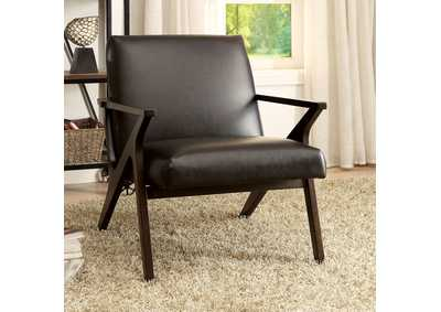 Image for Margaux Dark Brown Accent Chair