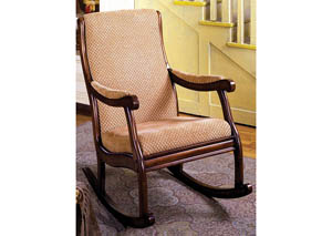 Image for Liverpool Classic Rocking Chair w/Padded Back & Seat