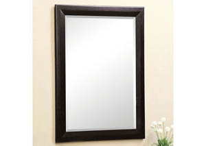 Welland II Black Hallway Mirror
