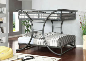 Lexis Full/Full Platform Bunk Bed