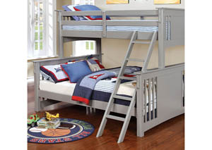 Spring Creek Twin XL/Queen Bunk Bed