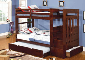 Woodridge Twin Bunk Bed