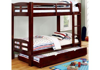 Solphine Espresso Twin/Twin Bunk Bed