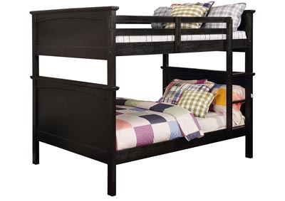 Marci Black Full/Full Bunk Bed