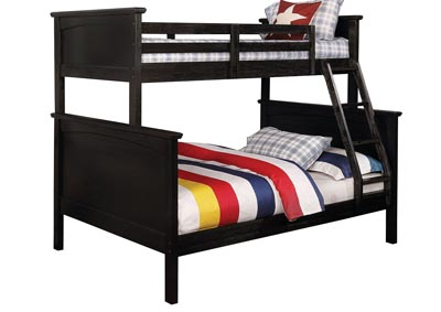 Marci Black Twin/Full Bunk Bed