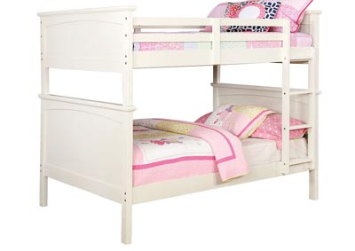 Marci White Full/Full Bunk Bed