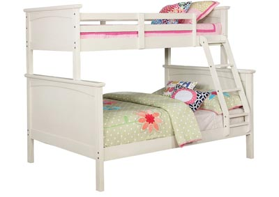 Image for Marci White Twin/Full Bunk Bed