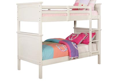 Image for Marci White Twin/Twin Bunk Bed