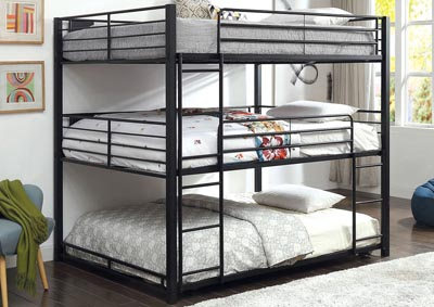 Olga Queen Triple Decker Bed
