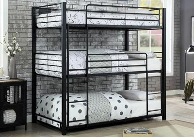 Image for Olga Twin Triple Decker Bed