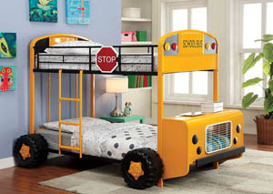 Field Tripper ll Twin Metal Bunk Bed