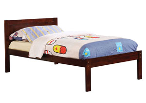Annemarie Espresso Twin Platform Bed