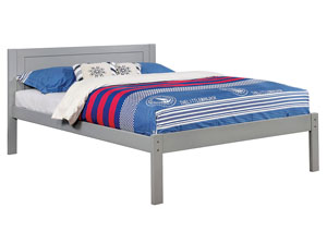 Annemarie Gray Full Platform Bed