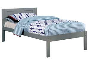 Annemarie Gray Twin Platform Bed