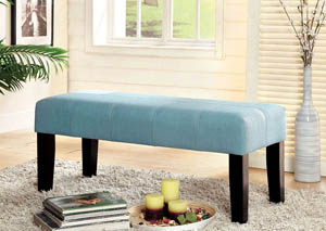 "Image for Bury 42"" Blue Fabric Bench"