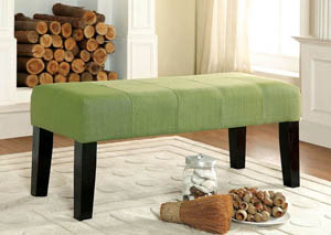 "Image for Bury 42"" Green Fabric Bench"