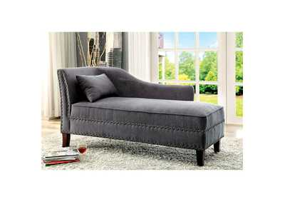 Stillwater Gray Chaise w/Pillow