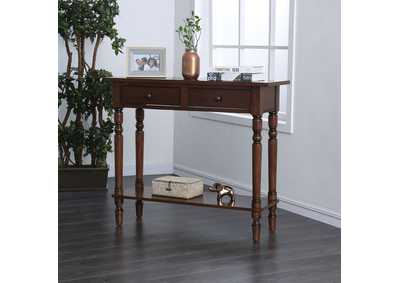 Calle Cherry Server w/2 Drawers & Open Shelf