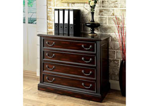 Coolidge Cherry File Cabinet