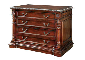 Roosevelt Cherry File Cabinet