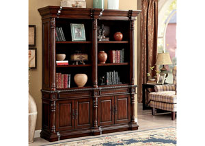 Roosevelt Cherry Large Book Shelf