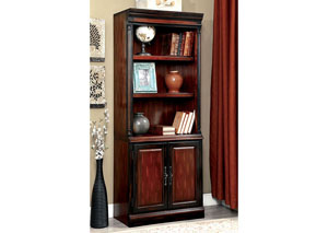 Strandburg Cherry & Black Bookcase