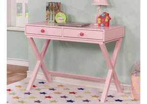 Conroe Pink Writing Desk