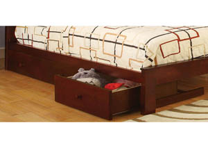 Omnus Cherry Underbed Drawers