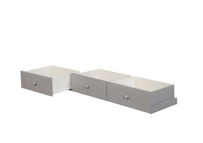 Omnus Gray Underbed Drawers
