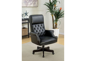 Bovill Black Office Chair
