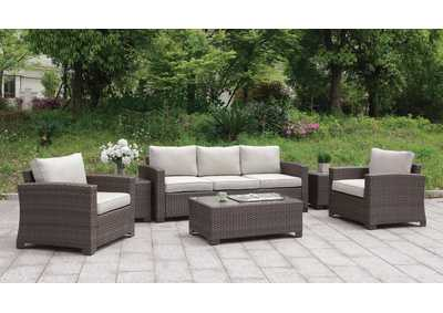Brindsmade Brown 6 Piece Patio Set