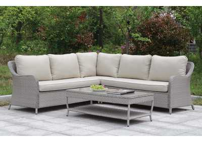 Image for Cogswell Gray Patio Sectional