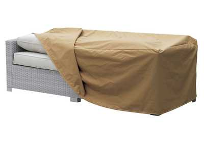 Boyle Small Light Brown Dust Cover For Sofa