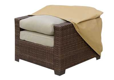 Boyle Large Light Brown Dust Cover For Chair