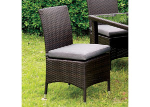 Leodore Gray Side Chair (Set of 2)