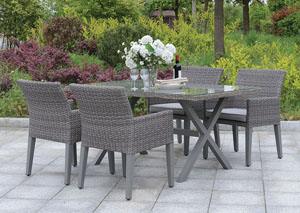 Chamberlain Gray Patio Dining Table