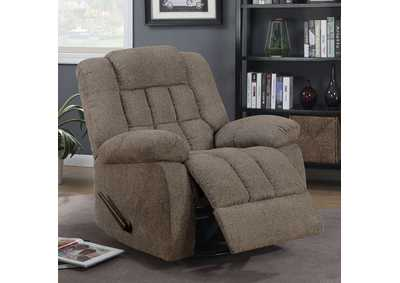 Piper Warm Gray 360 Glider Recliner