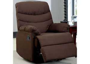 Plesant Valley Brown Microfiber Recliner