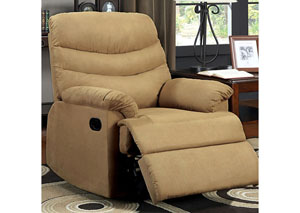 Plesant Valley Tan Microfiber Recliner