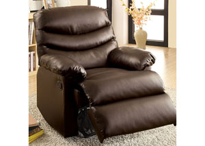 Plesant Valley Brown Bonded Leather Recliner