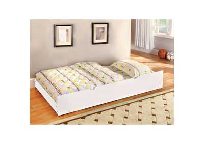 Omnus White Twin Trundle