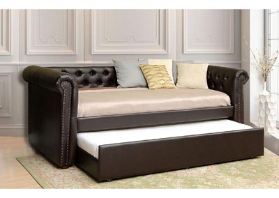 Leanna Brown Daybed w/Trundle