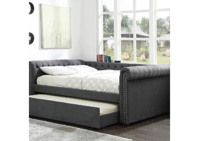 Leanna Gray Queen Daybed w/Trundle