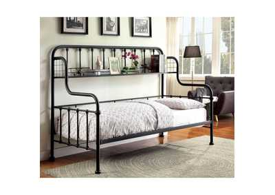 Carlow Black Metal Daybed