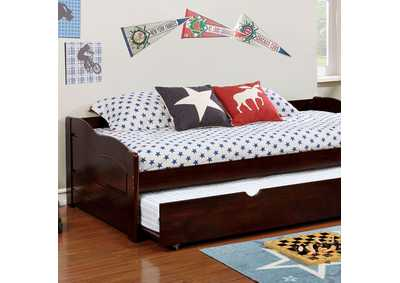 Sunset Espresso Twin Daybed w/Trundle
