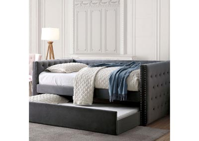 Susanna Gray Daybed w/Trundle