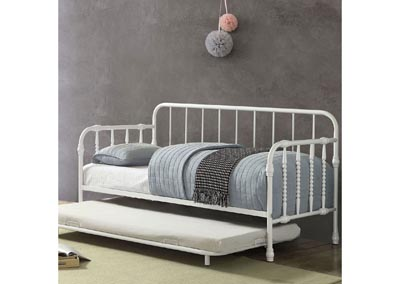 Fern Metal Daybed w/Trundle
