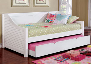 Flo White Daybed