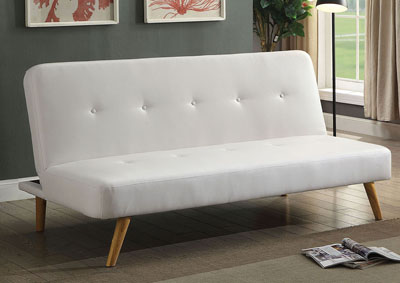 Image for Mulliner White Futon Sofa